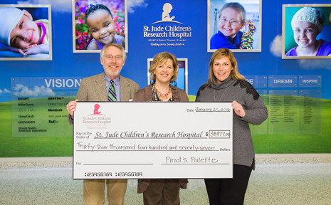 Painting It Forward with St. Jude Children's Research Hospital